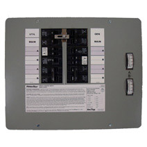 10-16 Circuit 30 Amp 7500 Watt Indoor Surface/ Flush Mount Manual Transfer Switch  UL By Generac