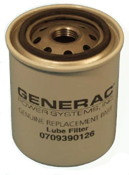 Generac RV Oil Filter for Quietpact Diesel 0709390126 - Norwall PowerSystemsNorwall PowerSystems