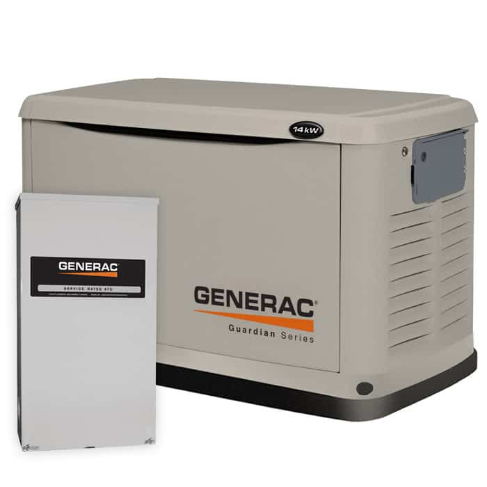 6241__36794 generac guardian 14kw standby generator pre packaged with 200 amp Generac Automatic Transfer Switches Wiring at edmiracle.co