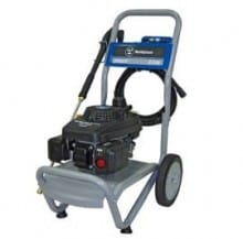 Model WP2300 (EPA & CARB compliant) gas pressure washer includes the Westinghouse XP series 160cc OHV engine, designed for durability and quiet operation.