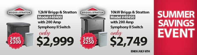 Summer Savings Event: Save up to $300.00