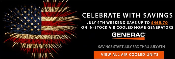 July 4TH Weekend Sale