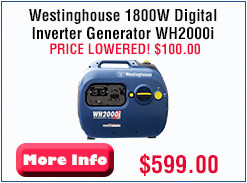 model# WH2000i Price lowered $100!