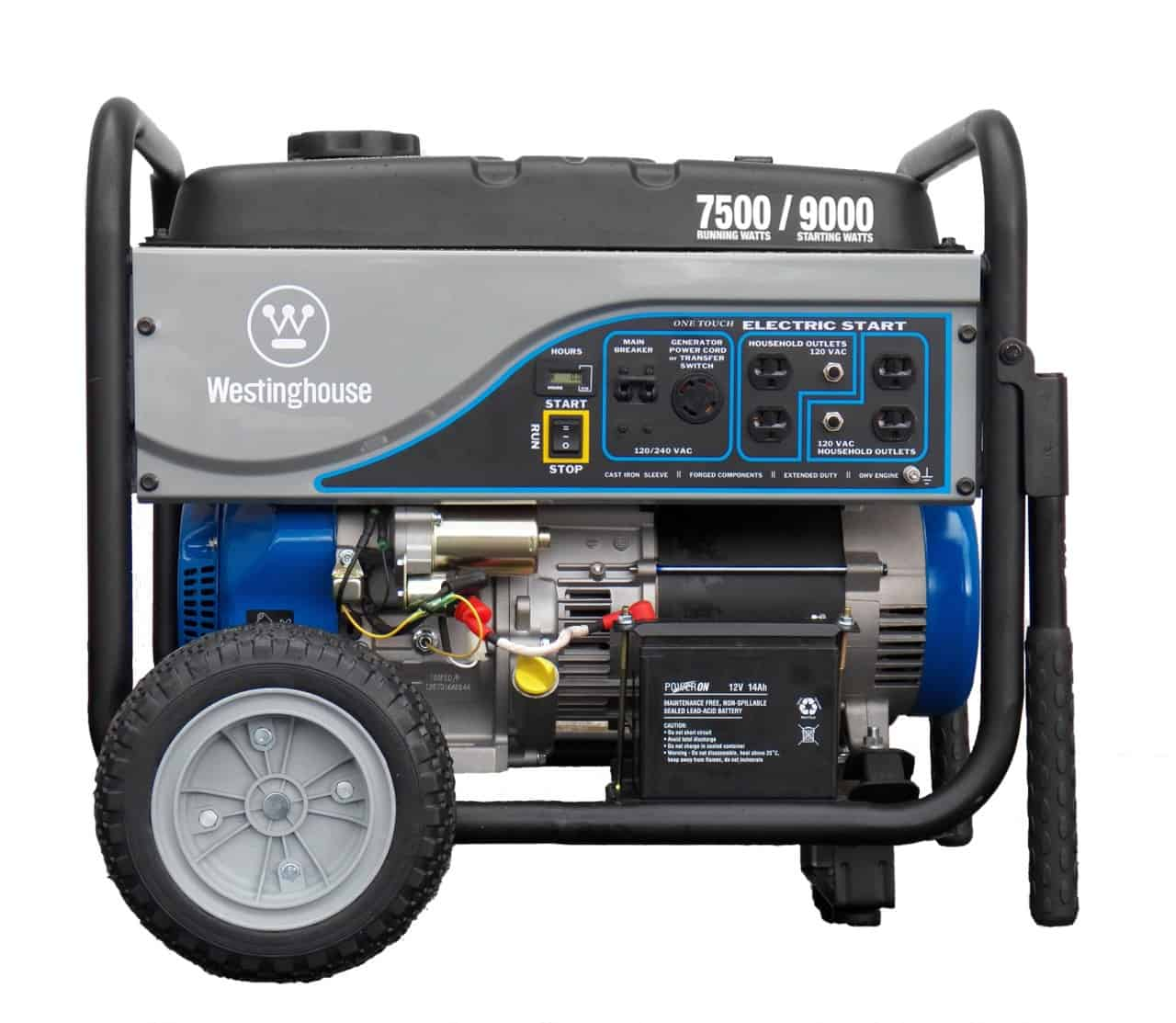 WH7500E_Westinghouse_Main_View__43358 westinghouse 7500 watt electric start portable generator wh7500e,Wiring Diagram 15kw Standby Generator Here Is The Pleted