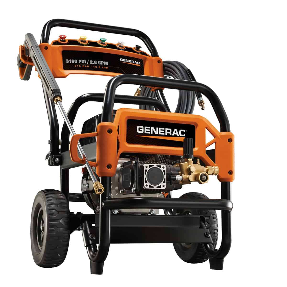 Generac 3100 PSI Commercial Power Washer 6590