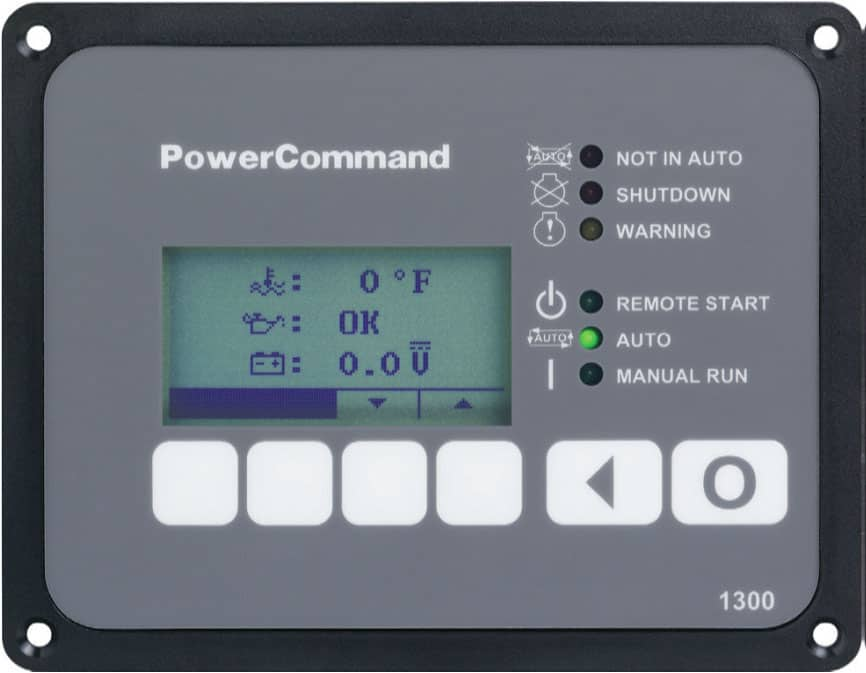 cummins power command hmi211 generator control panel | norwall powersystems  - norwall powersystems