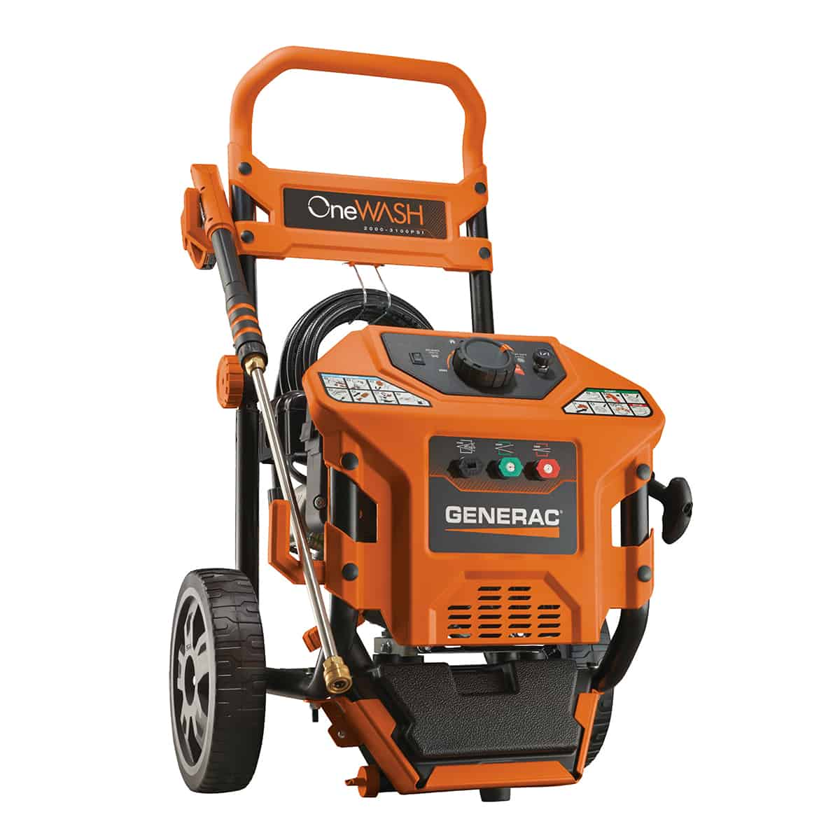 Generac One Wash 2000 to 3100 psi Residential Power Washer 6602