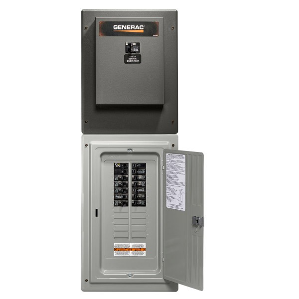 Generac Genready 100 Amp 24 Space Load Center Single Phase Service Rated Automatic Transfer Switch Rxg24sha1 Norwall Powersystems