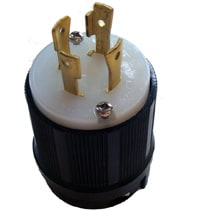 30 Amp 125/250V L14-30 Male Plug By Generac