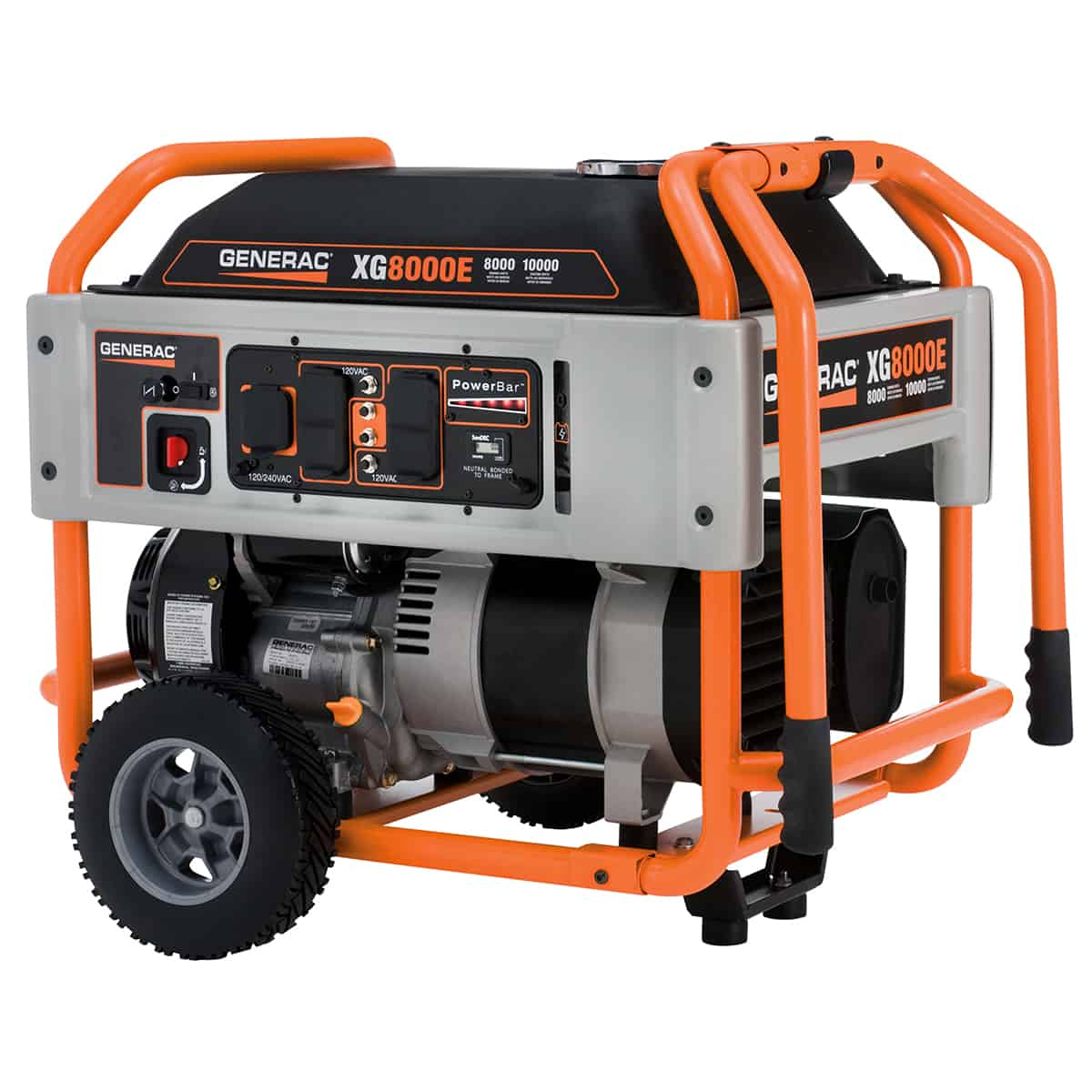 Generac Portable XG Series XG8000E Electric Start