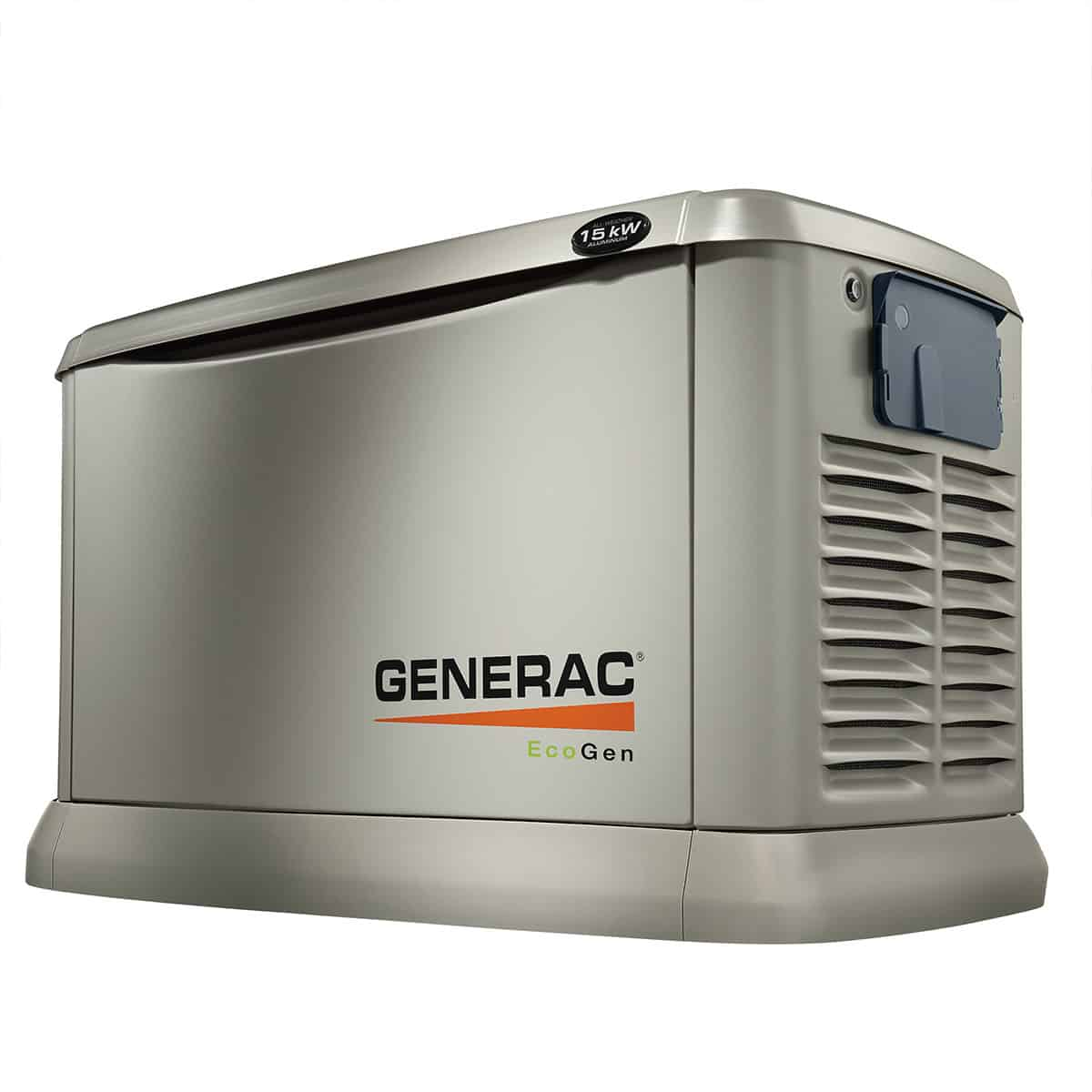 Generac 15kW NG/LP Air Cooled EcoGen Standby Generator | 6103