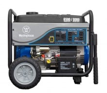 Westinghouse 6500 Electric Start Watt Portable Generator
