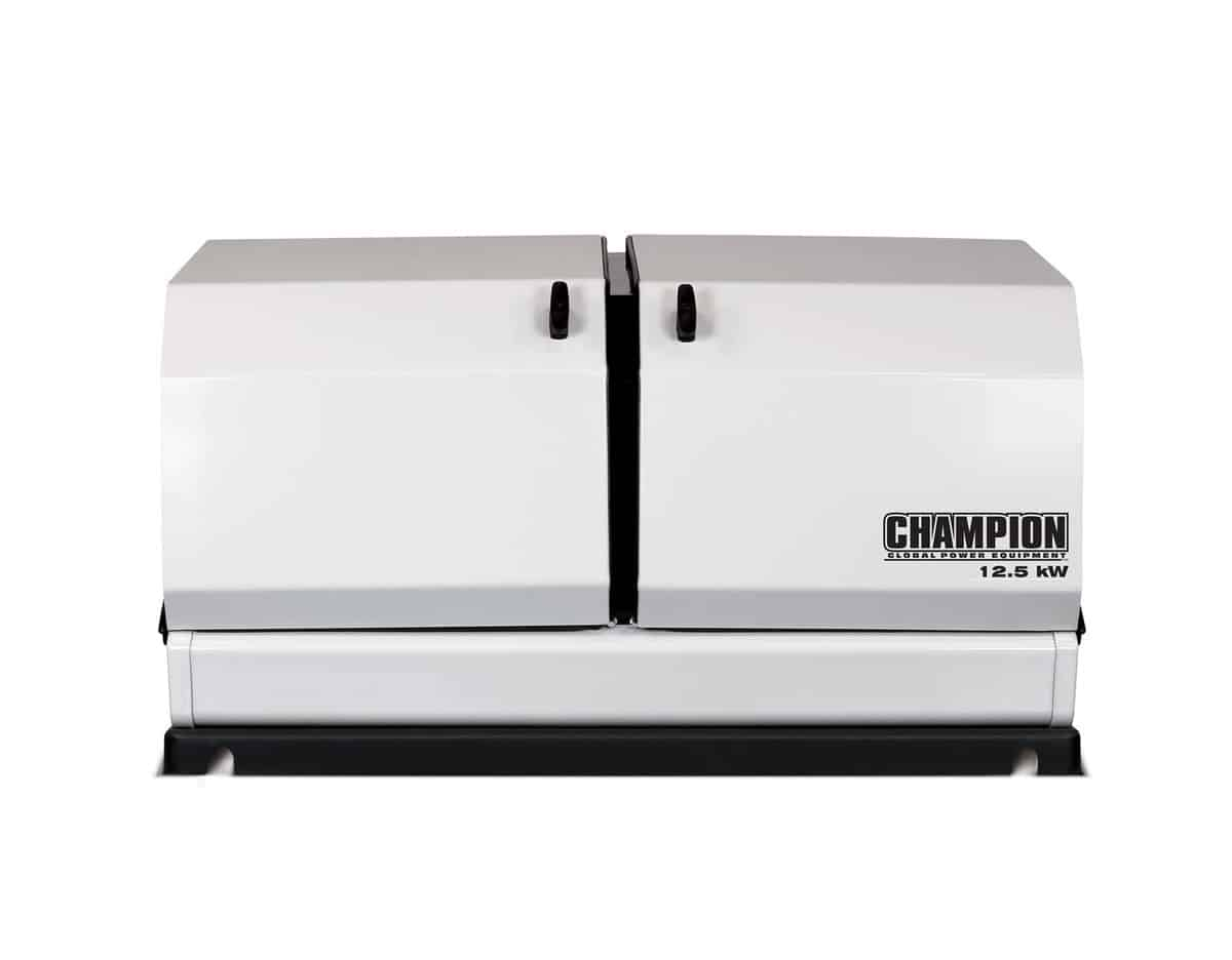 Champion 12 5kw Home Backup Generator Norwall Powersystems Norwall Powersystems