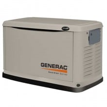 Guardian 17kW Automatic Home Standby Generator with Steel Enclosure