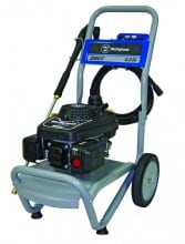 Model WP2500 (EPA & CARB compliant) gas pressure washer includes the Westinghouse XP series 160cc OHV engine, designed for durability and quiet operation.