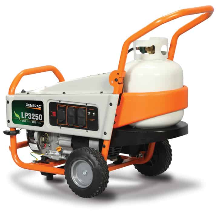 Generac LP Series 3250 Watt Propane Portable