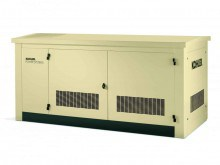30kW Liquid Cooled Natural Gas or Propane Standby Generator With Extra Oil Reservoir