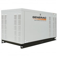 Generac QuietSource 22kW (Alum) NG/LP 240V Single Phase