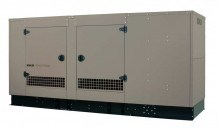 100kW Liquid Cooled Standby Generator Single Phase 120/240V Aluminum Enclosure