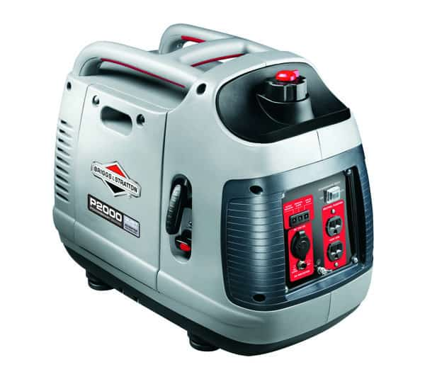 1800 watt inverter generator P2000 by Briggs & Stratton