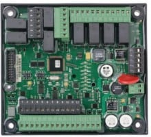 PowerCommand AUX 101 Input/Output module provides up to 8 Form-C relay output sets and 8 discrete/analog inputs.