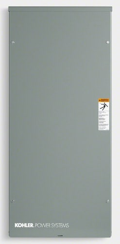 Kohler RDT 200 Amp Automatic Transfer Switch with 24 Space Load Center Nema 3R | RDT-CFNC-0200B-QS4