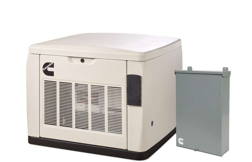 Cummins 20kW Home Standby Generator Quiet Connect RS20AC with 200-Amp  SE-Rated ATS