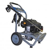 Model WP2700 (EPA compliant) gas pressure washer includes the reliable Kohler Courage XT7 173cc OHV engine and durable maintenance free Annovi Reverberi pump. Unit comes ready to use out of the box and includes a 30' professional grade high pressure hose, five precision spray tips with quick connect nozzle connections, lightweight ergo-trigger gun & stainless steel wand, oil, soap bottle siphoning hose, and an industry leading 3-year limited warranty