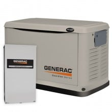 Guardian 11/10kW Air Cooled Standby Generator Package