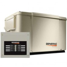7.5kW Generac PowerPact 6998 Home Standby for Essential Backup Power with 50A Load Center ATS | 69981