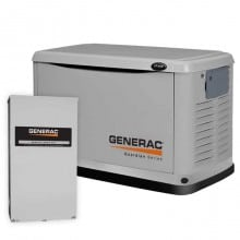 Guardian 20kW Standby Generator Package with 200 Amp Service Rated Automatic Transfer Switch