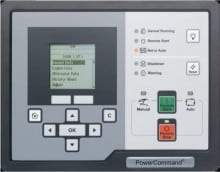 Can be used to monitor generator set performance as well as perform basic generator set control and configuration.