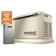 22kW Generac Guardian Home Standby Generator with 200A SE Rated ATS | 7043